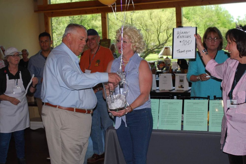 2019-04-27 Event Raffle Drawing A w Sen Ralston LuAnn Quaiel